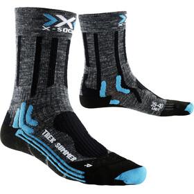X-Bionic Trekking Summer - Calcetines Mujer - gris/azul